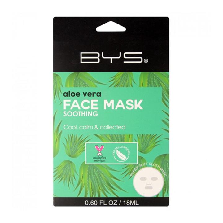 BYS Face Mask Cloth Soothing Aloe Vera