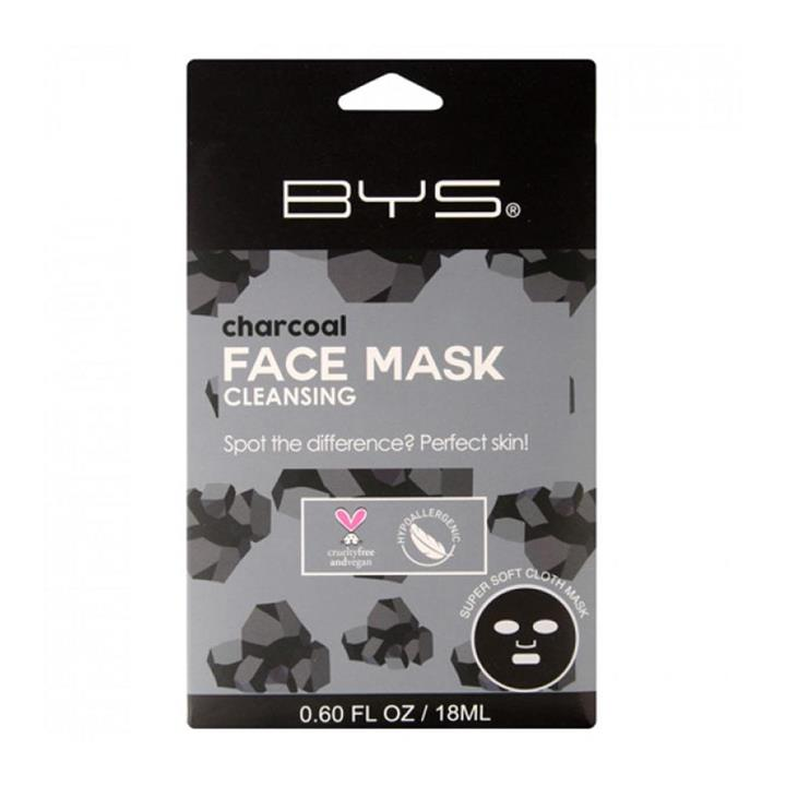 BYS Face Mask Cloth Cleansing Charcoal