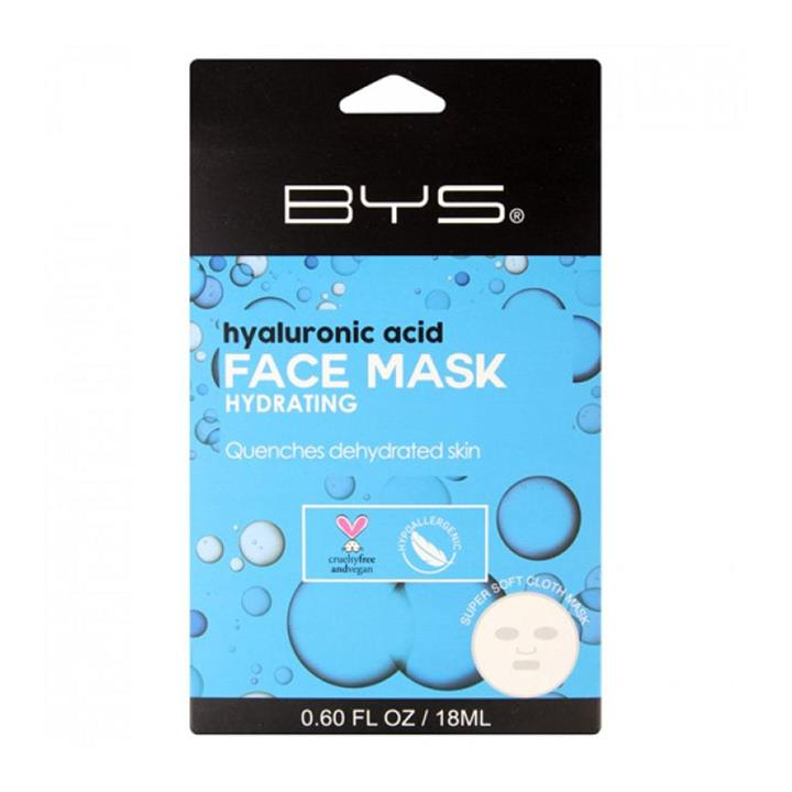BYS Face Mask Cloth Hydrating Hyaluronic Acid