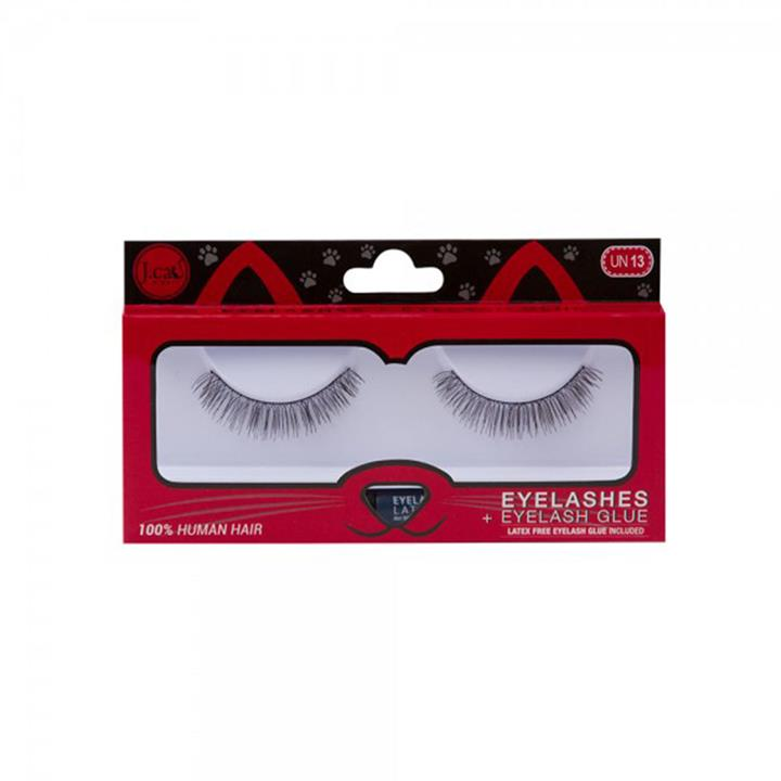 J.Cat Beauty Eyelashes + Latex Free Eyelash Glue EL UN13