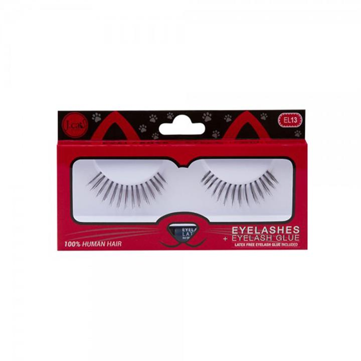 J.Cat Beauty Eyelashes + Latex Free Eyelash Glue EL13
