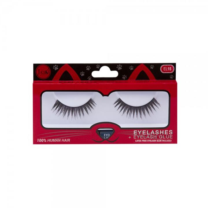 J.Cat Beauty Eyelashes + Latex Free Eyelash Glue EL15