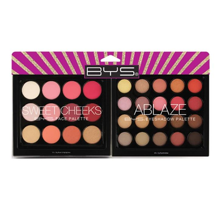 BYS Ultimate Collection Sweet Cheeks & Ablaze Palette