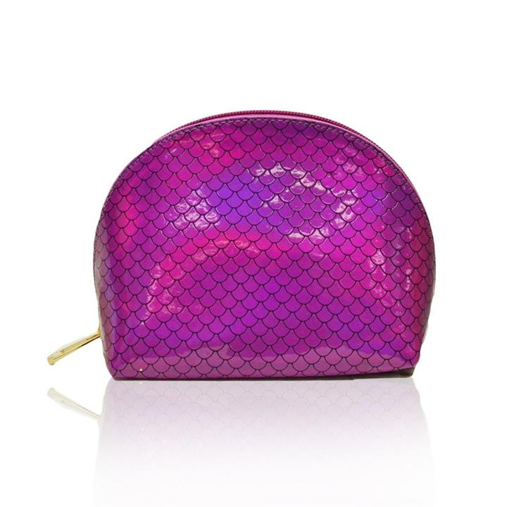 She Sells Sea Shells Makeup Bag Magenta