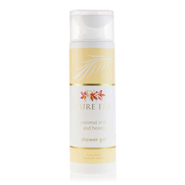 Pure Fiji Shower Gel – Coconut Milk & Honey 265ml