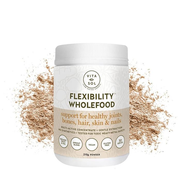 Vita Sol Flexibility Wholefood Powder 210g
