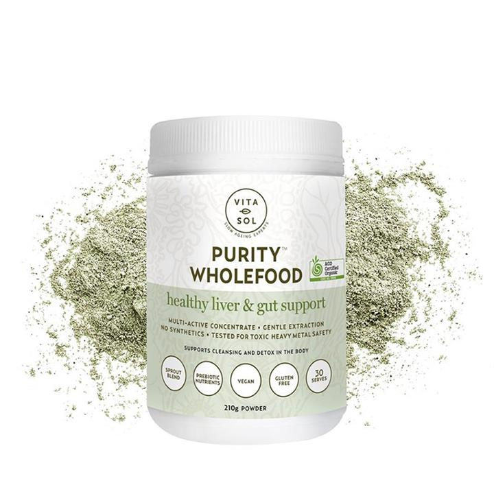 Vita Sol Purity Wholefood Powder 210g