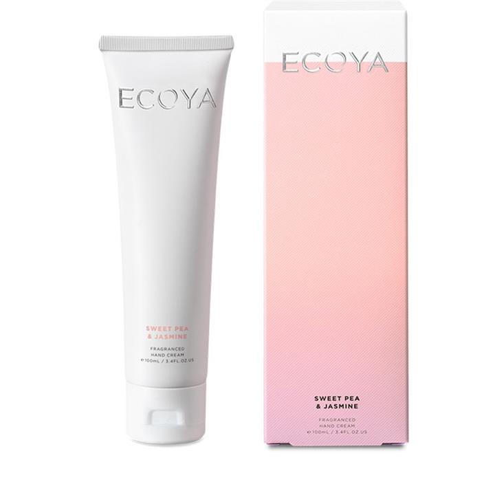 Ecoya Hand Cream - Sweet Pea & Jasmine 100ml
