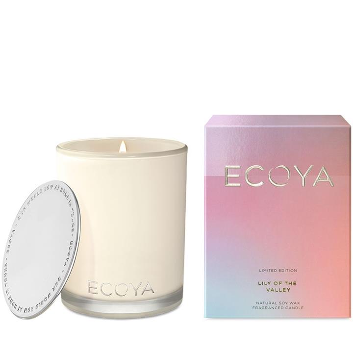Ecoya Madison Jar Candle – Lily of the Valley 400g