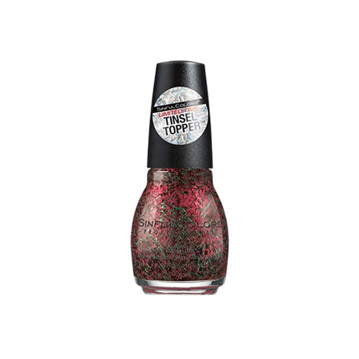 Sinful Colors Nail Polish Limited Time Tinsel Topper #Elfie 15ml