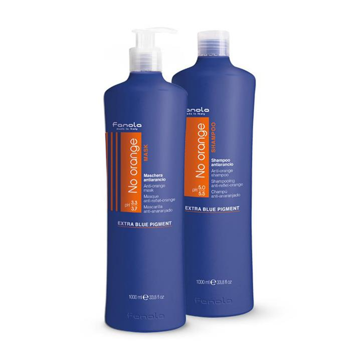 Fanola No Orange Pack Shampoo & Mask 1L