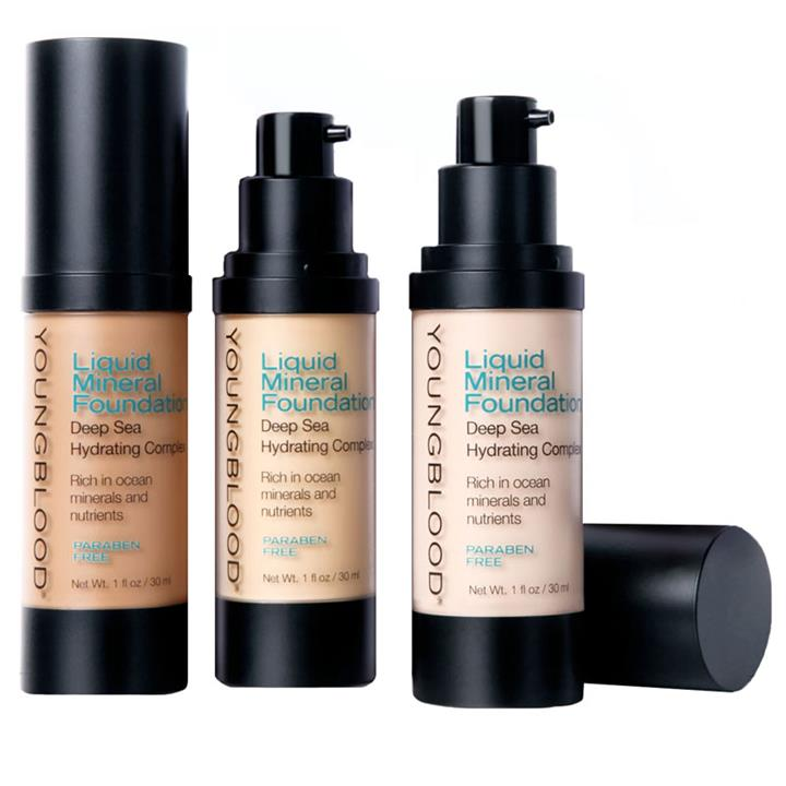 Youngblood Liquid Minerals Foundation- Ivory 30ml