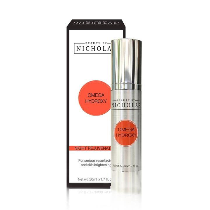 Beauty By Nicholas Omega Hydroxy Night Rejuvenation 50ml