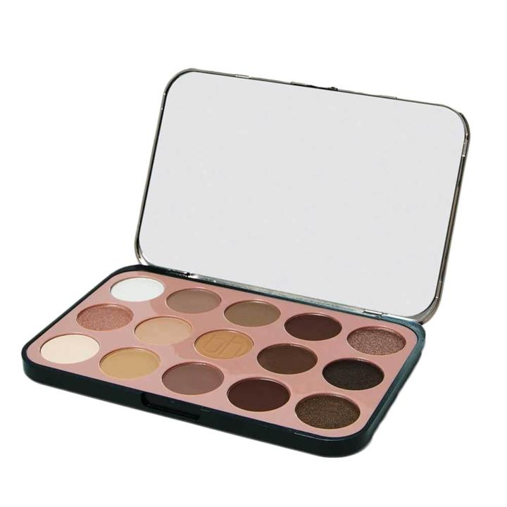 BH Cosmetics Glam Reflection 15 Color Shadow Palette Rose
