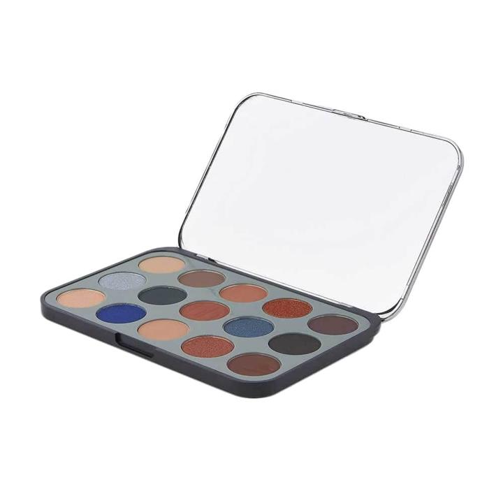 BH Cosmetics Glam Reflection 15 Color Shadow Palette Smoke
