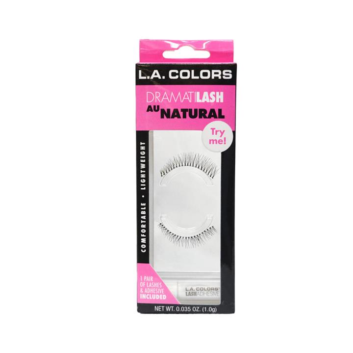 LA Colors Dramatilash Eyelashes Au Natural