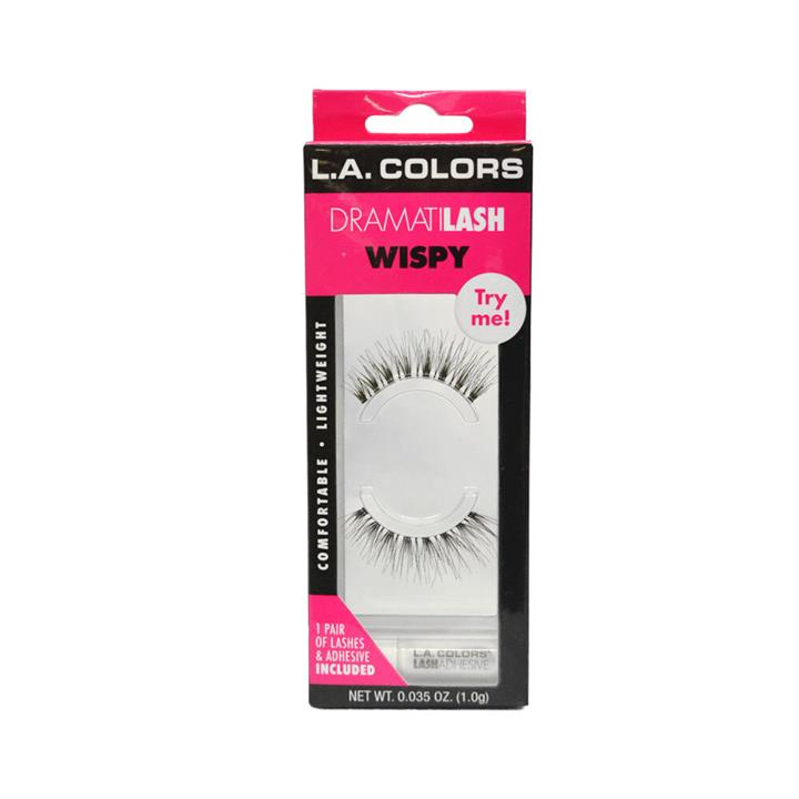 LA Colors Dramatilash Eyelashes Wispy