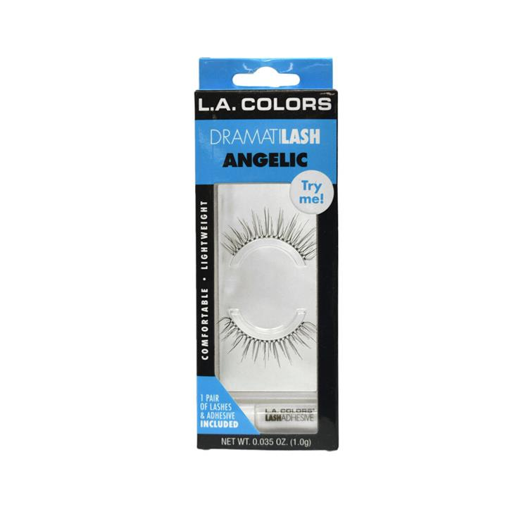 LA Colors Dramatilash Eyelashes Angelic
