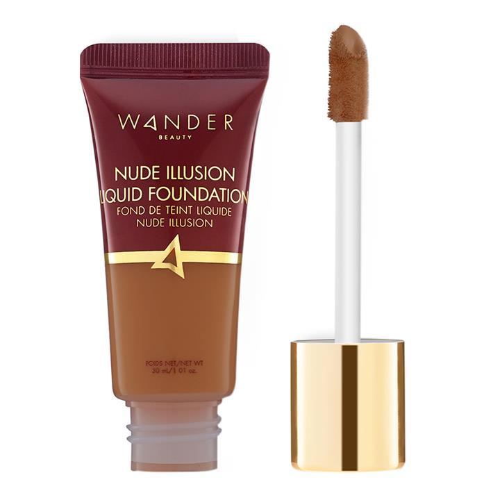 Wander Beauty Nude Illusion Liquid Foundation Deep