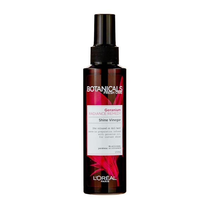 L'Oreal Botanicals Shine Vinegar Geranium Radiance Remedy 150ml