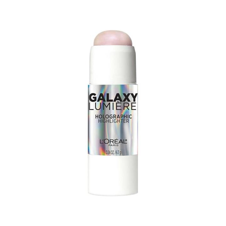 L'Oreal Galaxy Lumiere Holographic Highlighter Stick 12 Cosmic Pink