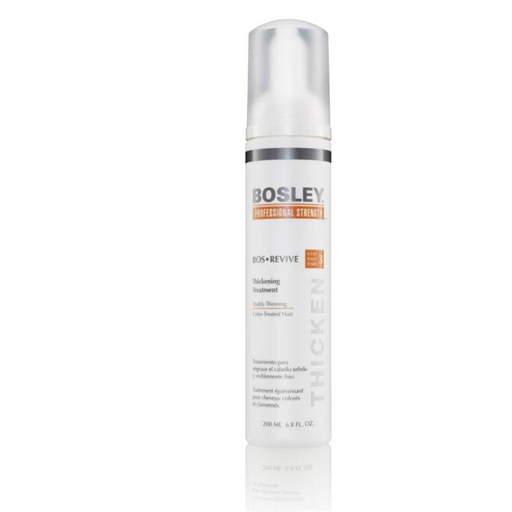 Bosley BosRevive Thickening Treatment for Color-Treated Hair  200ml (Orange)