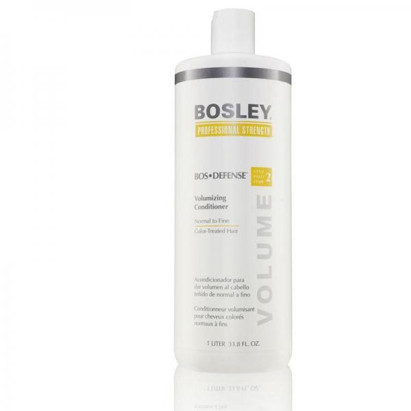 Bosley Defense Conditioner for Color-Treated Hair 1 Litre (Yellow)