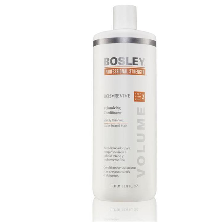 Bosley BosRevive Conditioner for Color-Treated Hair  1 Litre (Orange)