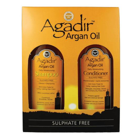 Agadir Argan Oil Daily Moisturizing Shampoo and Conditioner Duo 2 items