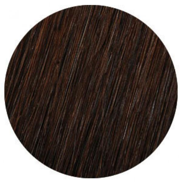 Showpony Clip-In Human Remy Hair Extensions 20 Inch Midnight Brown