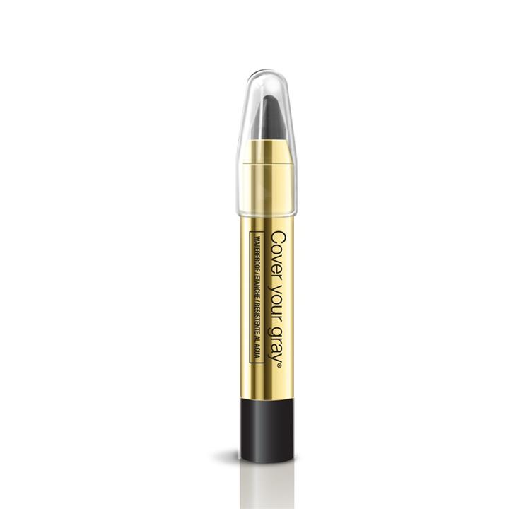 Cover Your Gray Hair Color Touch-Up Waterproof Pencil Black