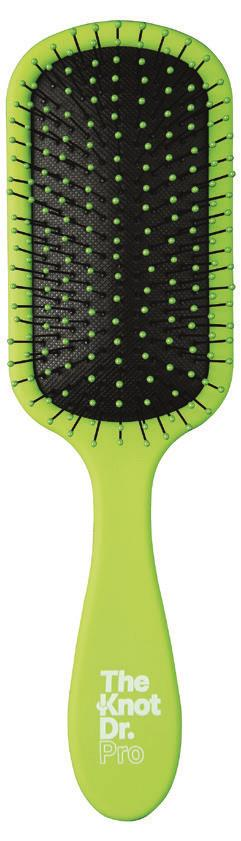 The Knot Dr Pro Brite Detangling Brush Pomelo (green)
