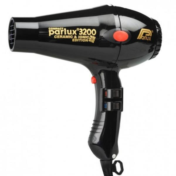 Parlux 3200 Ceramic & Ionic Hair Dryer Black