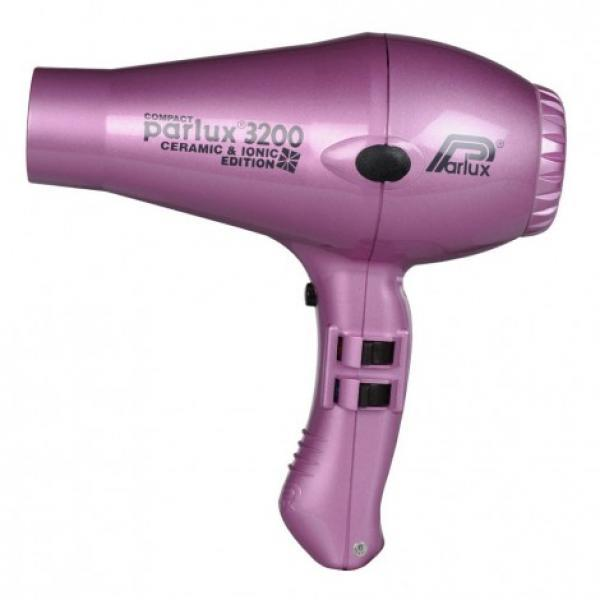 Parlux 3200 Ceramic & Ionic Hair Dryer Pink