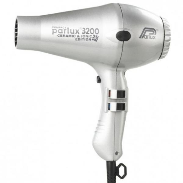 Parlux 3200 Ceramic & Ionic Hair Dryer Silver