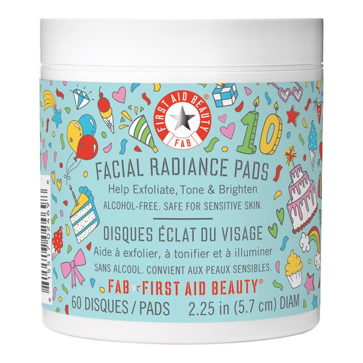 First Aid Beauty Facial Radiance Pads (Limited Edition) 60 Pads