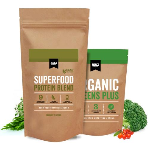 4kg Vegan Pack + Greens Bundle