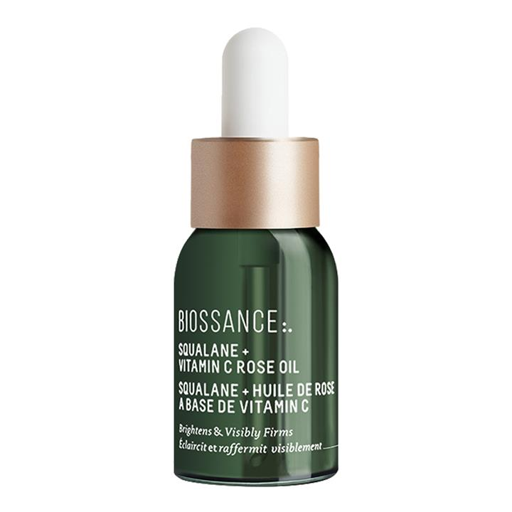Biossance Squalane + Vitamin C Rose Oil 12ml