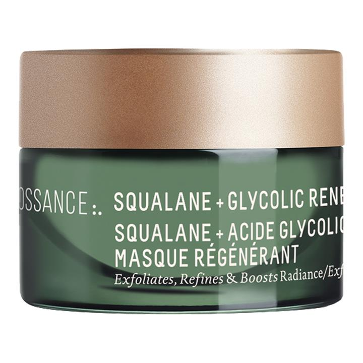 Biossance Squalane + Glycolic Renewal Facial Mask 12ml