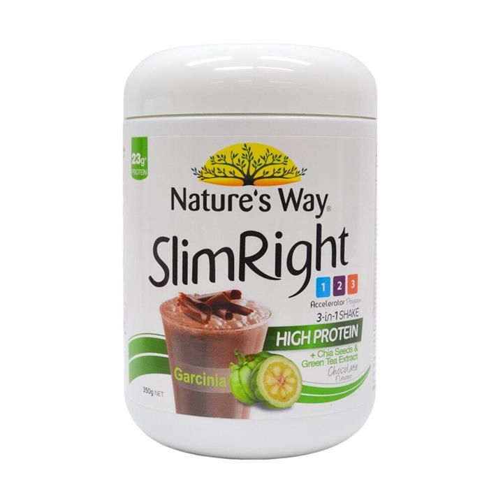Nature's Way Slim Right 3 In1 Shake Chocolate Flavour 350g