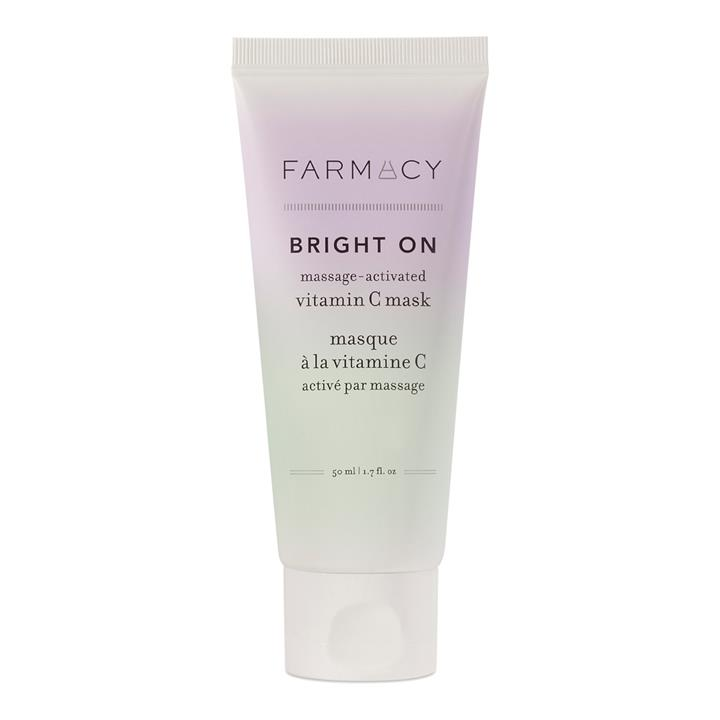 Farmacy Bright On Massage-Activated Vitamin C Mask 50ml