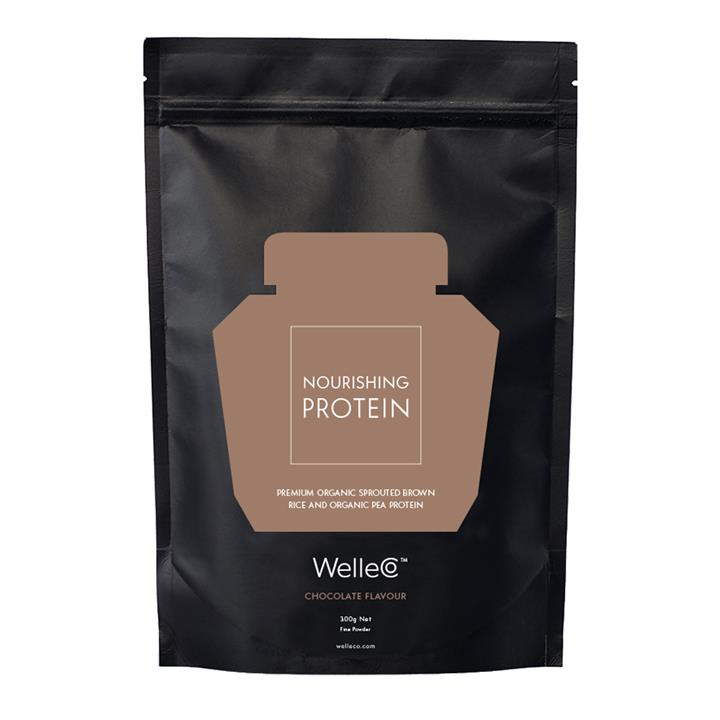 WelleCo Nourishing Protein (Chocolate) Supplement 300g (Refill)