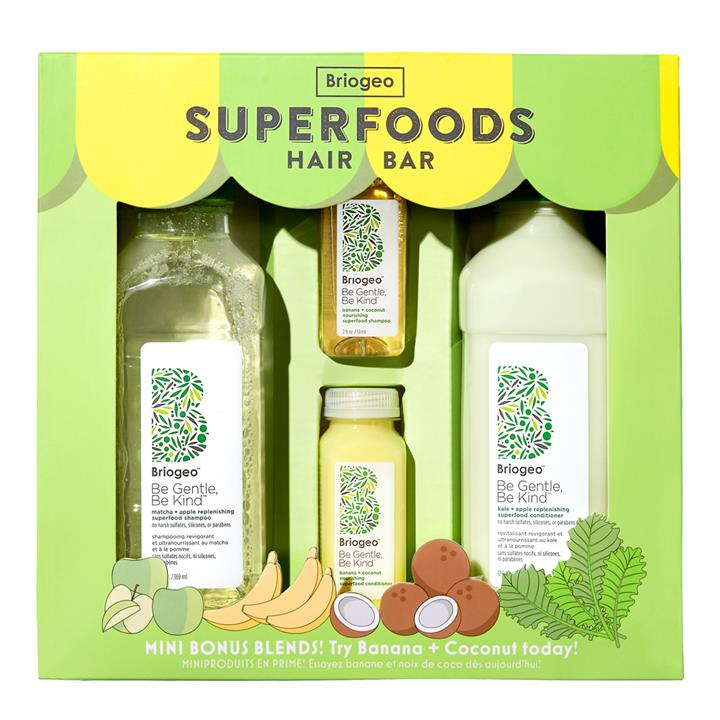 Briogeo Be Gentle, Be Kind Superfoods Hair Bar Hair Set (Limited Edition 2019)