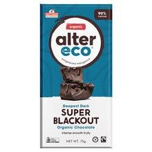 Alter Eco Chocolate Super Blackout 90%Cocoa 75gm