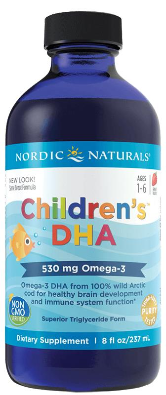 Nordic Naturals Children's DHA Strawberry Liquid 237ml