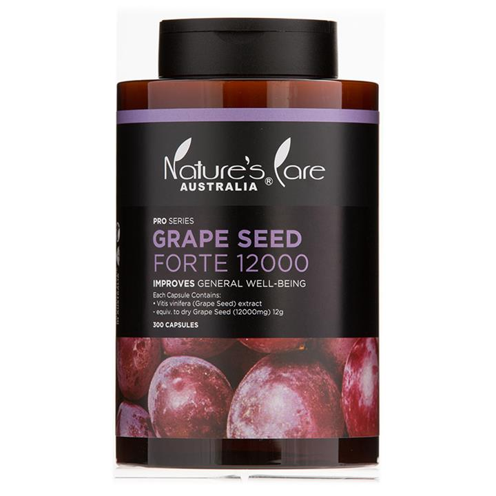 Nature's Care Pro Series Grape Seed Forte 12000 Cap X 300