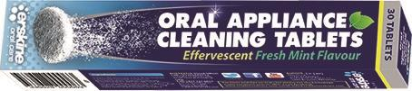 Oral Appliance Cleaning Tablets X 30