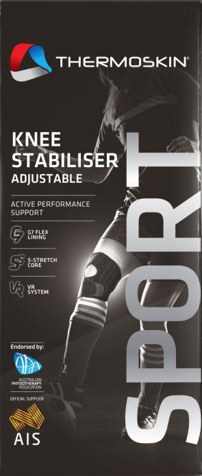 Thermoskin Sports Knee Stabiliser Adjustable S/M