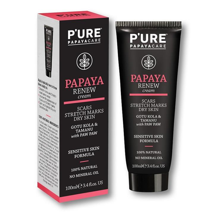 PURE Papaya (paw paw) Renew Cream 100mL