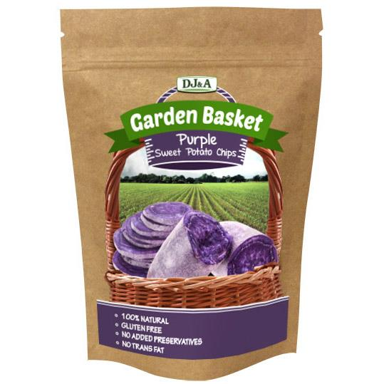 DJ&A Garden Basket Purple Sweet Potato Chips 40g